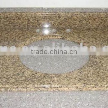 Tiger skin yellow granite countertop with low price