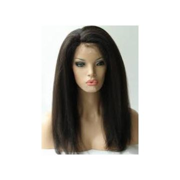 Grade 6A Indian 16 18 20 Inch Natural Real  Natural Human Hair Wigs 100g