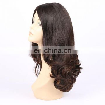 Top quality human hair full lace wig, real unprocessed human hair wig, wholesale cheap 8inch european women hair jewish wig