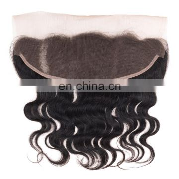 hot sell ladystar human hair bundles with closure 13*4 inch front lace closure with bundles