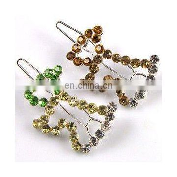 2013 newest fashion alloy cute rhinestone dog hair clip