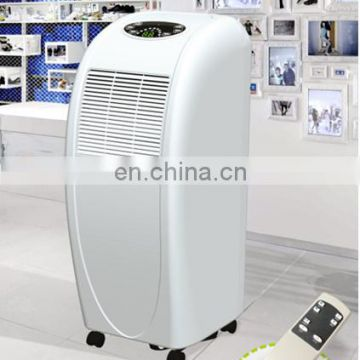 movable dehumidifier with water tank
