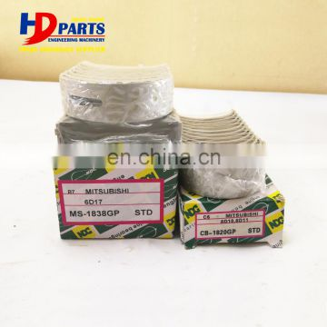 Diesel Engine Parts 6D17 Main and Con Rod Bearing STD