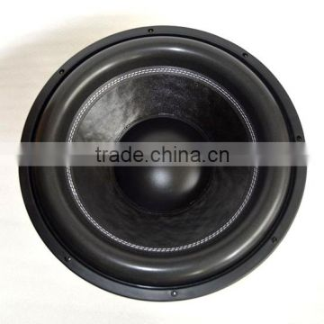 Made in China Subwoofer lines for cars with RMS 2500w spl car subwoofer audio