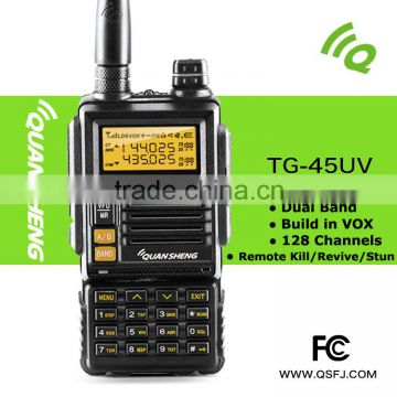 UHF Portable Radio Walkie Talkie Frequency Range 400-470 MHz FM Transceiver 16 Channels Walkie-Talkie Two-Way Radio FCC Cert.