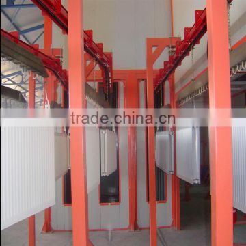 powder coating line,powder spray booth,wood effect powder coating line