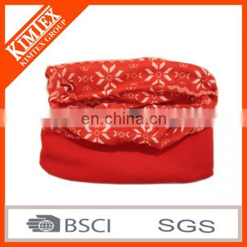 2017 Fashion Cheap Custom Polyester and Polar Fleece Winter Outdoor Sport Bandana