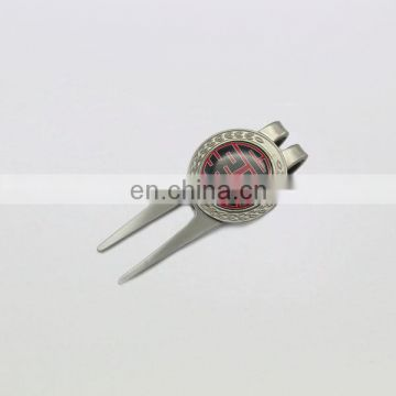 promotional magnet golf hat clips with ball marker