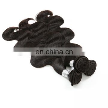 wet and wavy virgin body wave indian remy angels hair collection weave with closure from new delhi