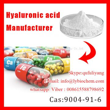 Cosmetic grade acid hyaluronic/100% pure hyaluronic acid powder