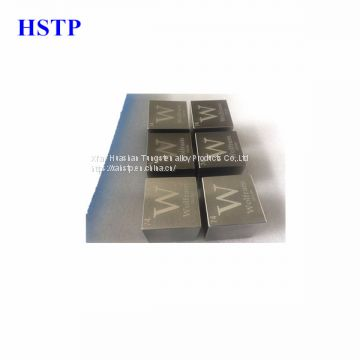 tungsten alloy  ingots/square
