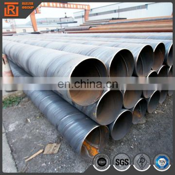 Large diameter spiral steel pipe, welded price of 48 inch steel pipe, oil and gas pipe