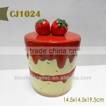 Handmade storage jars chinese