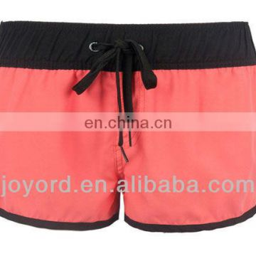 professional custom design swimming trunks women surf shorts beach wear
