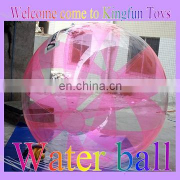 2014 Half pink water running ball