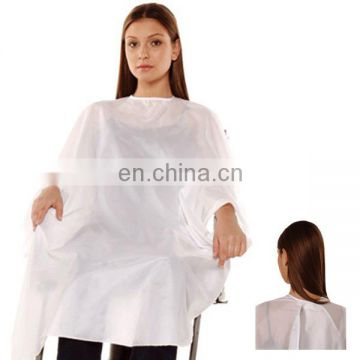 Disposable PE Hair Coloring Cape