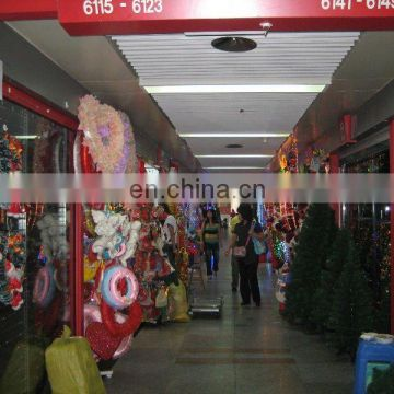 X'mas part of first section market yiwu purchasing agent