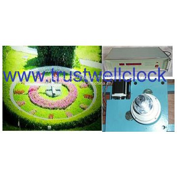 floral clocks, flower clock, movement for floral clocks, movement for flower clocks,floral clock motor, clocks movement