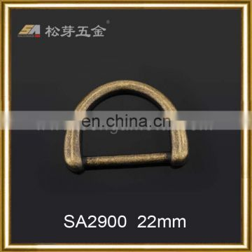 Professional high quality metal zinc alloy tongue buckle