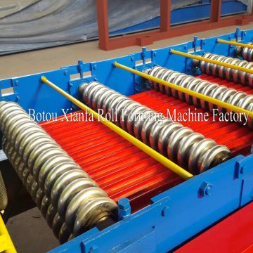 Iron roofing sheet corrugated iron sheet making machine