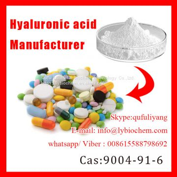 Top Grade Food/Cosmetic/Injection Grade Hyaluronic Acid