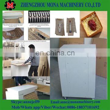 Waste Hard Cardboard Shredder Machine Strip-Cut Carton Box Shredder price