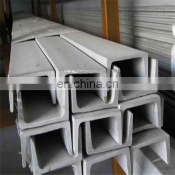 cold rolled ss 304 stainless steel bar unistrut channel 316l