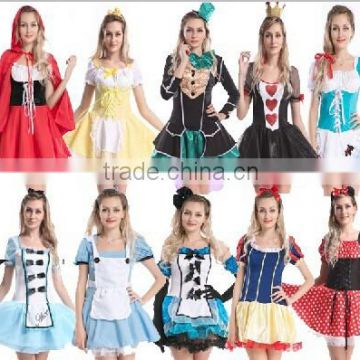 Las Fairytale Storybook Character Nursery Rhyme Fancy Dress Costume Outfit Quality Choice