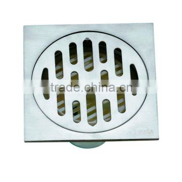 Stainless Steel Floor Drain B3103S .hot sale item,with PVC bottom,single use