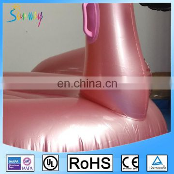 NEW Inflatable Rose Gold Flamingo Pool Float Inflatable 150cm Flaimgo Pool Floats