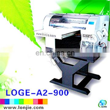 Outdoor and Indoor High Resolution Solvent Recycled Plastic Printer