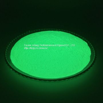 Manufacturer direct selling yellow green glow in the dark powder JPG-394 for injection molding / Non-toxic