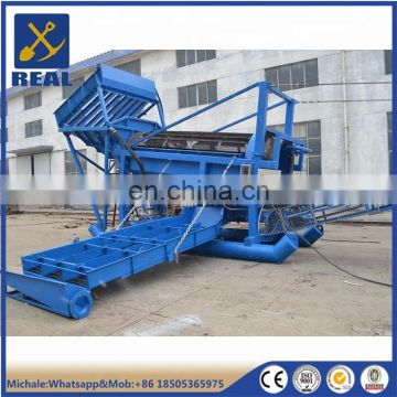 Trommel screen drum gold mining plant for Canada
