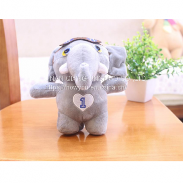Cute Keychain Plush Toy Elephant Tiny Custom Little Doll
