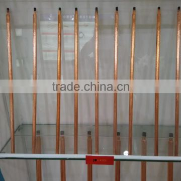 DC Copper Coated Jointed Hollow Gouging Rods