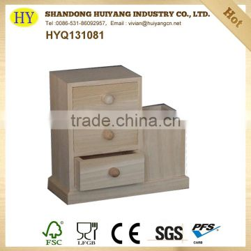 Discount unfinished Wooden office stationery on sale