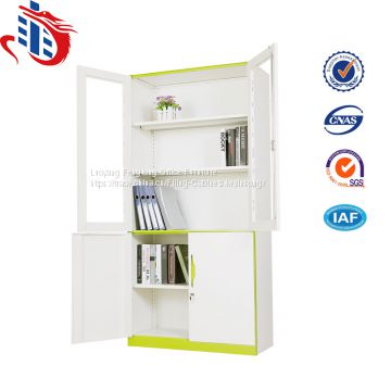 Office display cupboard designs metal storage cabinets with glass door