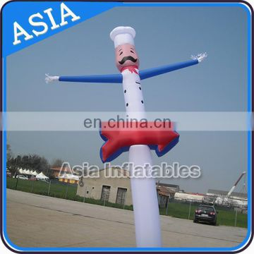 6mH Mini arrow Custom Dancers with led light for shop promotion