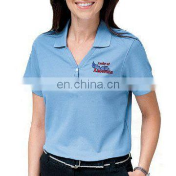 Customised logo printed official polo tshirt