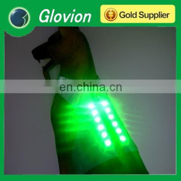 Glovion light up pet clothes USB rechargeable pet clothes wholesale flashing pet clothes