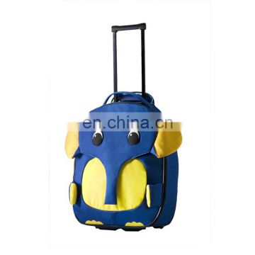 Convenient student trolley school bag for boys