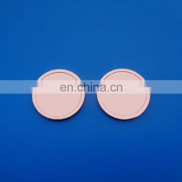 plating shiny copper metal souvenir collection blank coin