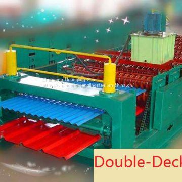Low Price Metal Steel  steel Roof Plate Iron Sheet Tiles cold roll forming Making Machine for roof panels