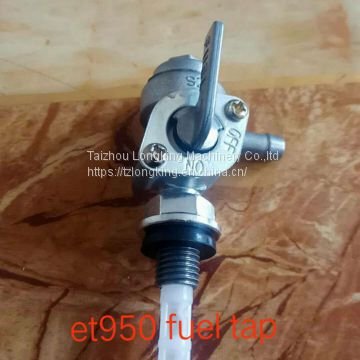 Two Stroke Generator Fuel Tap For Yamaha ET650 ET950 Petcock Assembly Inlet Switch Tap Valve fuel cock