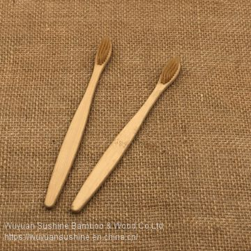 Travel toothbrush,Made of Bamboo