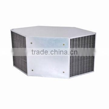 HOLTOP cross counterflow aluminum foil air to air plate heat exchanger core
