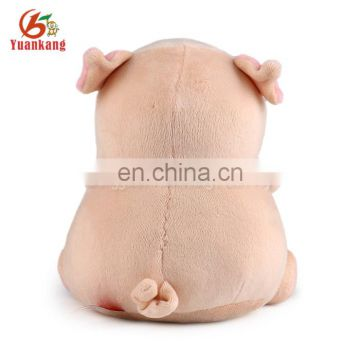 2017 Hot Sale Custom Cute Pig Toys Lovely Stuffed Pink Plush Fat Pig Toys