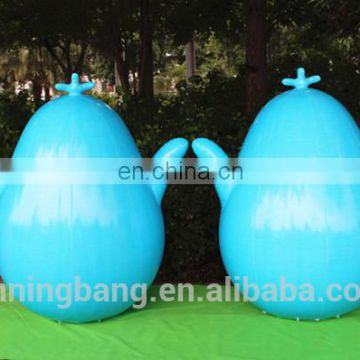 Floating water event inflatables type water blue inflatable buoy