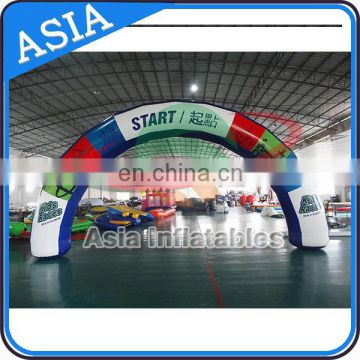 Larger Inflatable Arches on Big Sports Event Advertising, Inflatable Finish Line Arch , Inflatable Misting Archways
