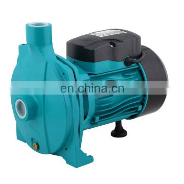 1hp Electric high flow centrifugal irrigation water pump